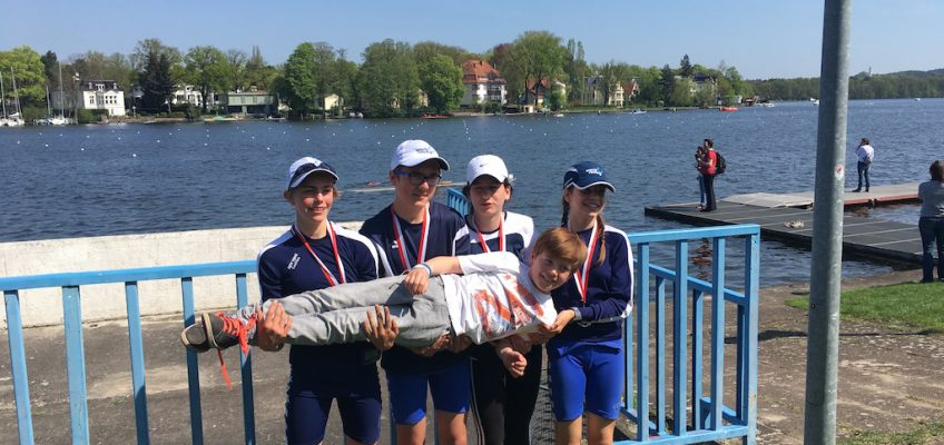 Berliner Frühregatta: Start in die Saison 2018