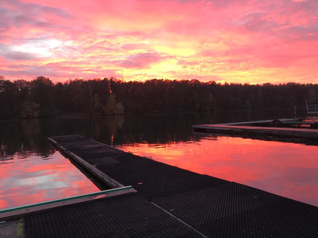 Herbst auf dem Wasser….